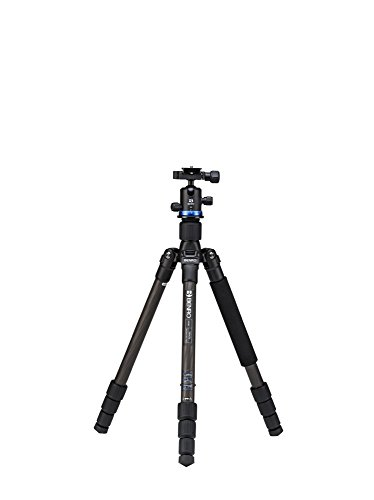 Benro Velocity Carbon Fiber Series 1 Tripod Kit w/ IB0 Head. (FVY18CIB0) by Benro
