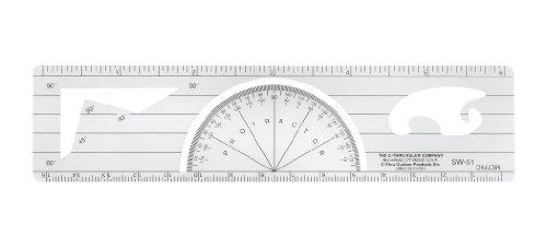 westcott-lettercraft-protractor-ruler-6-inch-15cm-sw-51
