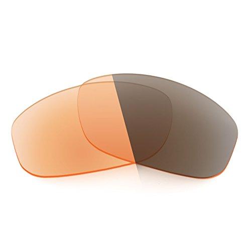 Verres de rechange pour Arnette Freezer AN4155 — Plusieurs options Elite Adapt Orange photochromique