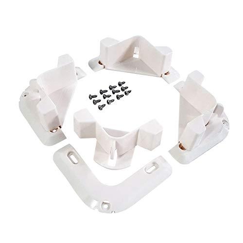 VersaChock Cooler/Cargo Tie Down-White Removable CHOCKS