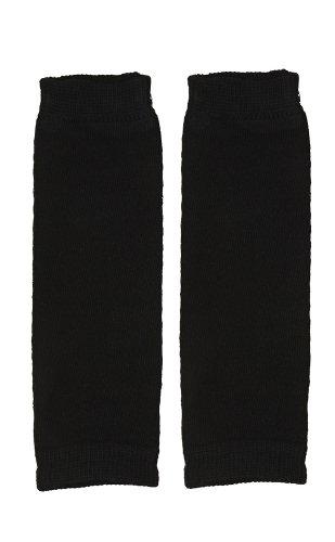 Scrunched Legs - juDanzy Newborn Small Baby Leg Warmers (Newborn-15 Pounds) (Solid Black)