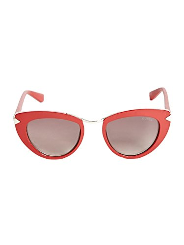 GUESS Women's Cat Eye - Oval Sunglasses Shaped Faces For