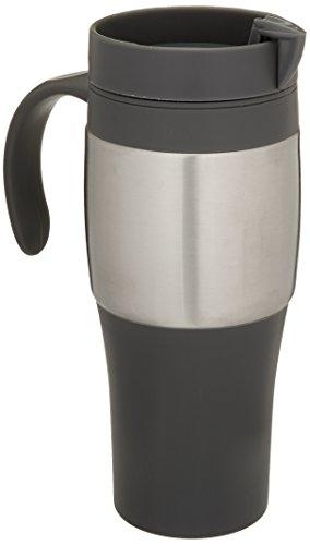 (Trudeau Maison Mariner II Travel Mug, 14 oz, Grey)