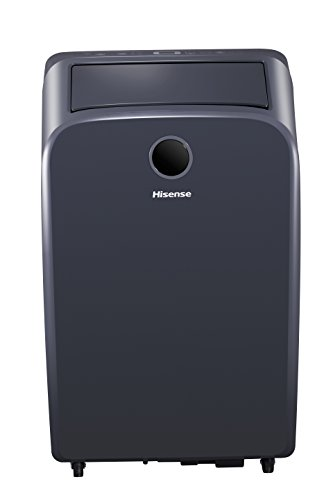 Hisense AP10CW2G Connected Portable Air Conditioner for 300 Square Foot Room, Black