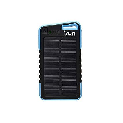 Cargador Solar portátil iSun (Power bank 5000 mAh)