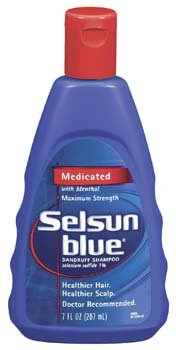 Force Selson Bleu maximale Shampooing 7 oz (Pack de 6)