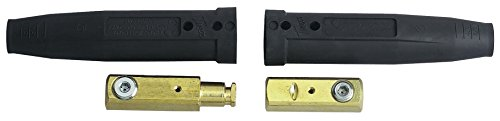 Tweco 2-MPC Series MPC Single Ball-Point Male and Female Cable Connector, 1/0, 2/0, 3/0 Cable Capacity
