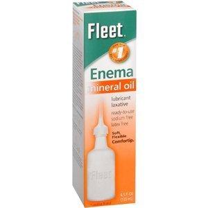 Special pack of 6 FLEET ENEMA MINERAL OIL 4.5 - Rectal Fleet Enema
