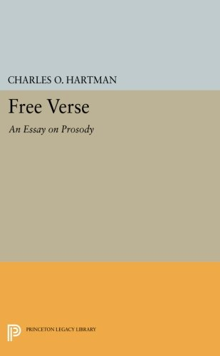 Download Free Verse: An Essay on Prosody (Princeton Legacy Library) ebook