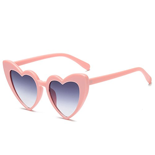 Gafas sol de de al de en sol Gafas attachmenttou 4 libre de de las aire moda PC corazón forma mujeres Ctqwn5