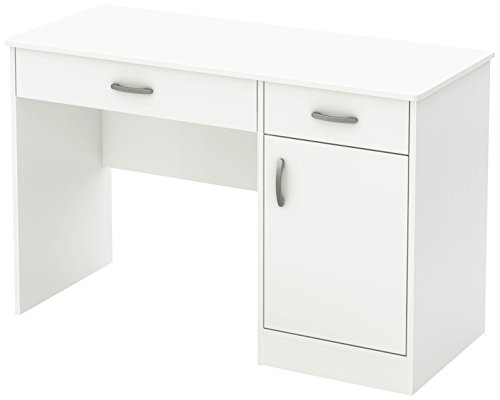 South Shore 7250070 Small Computer Desk with...