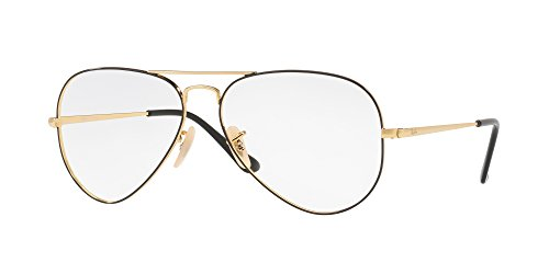 Ray-Ban Aviator RX6489 - 2946 Eyeglasses - Aviator Ray Eyeglasses Ban