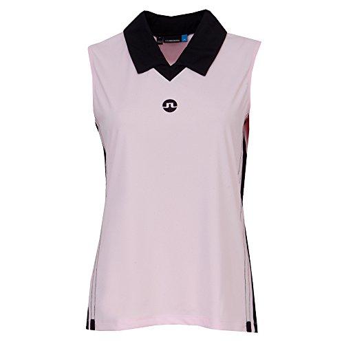 原子ペパーミント使役J。Lindeberg Womens Sha TX jersey-xs-softピンク
