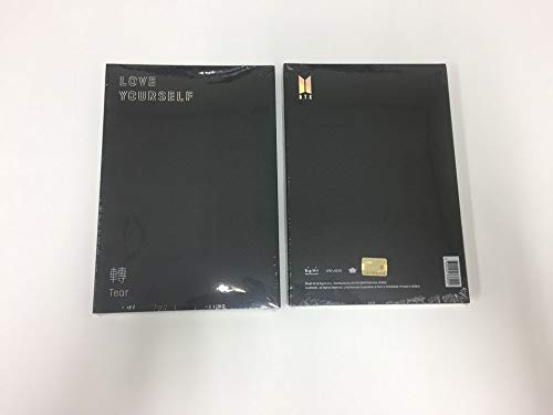BTS - LOVE YOURSELF 轉 TEAR [ R version ] CD+PHOTOBOOK+PHOTOCARD+Folded poster by BTS 3rd ALBUM