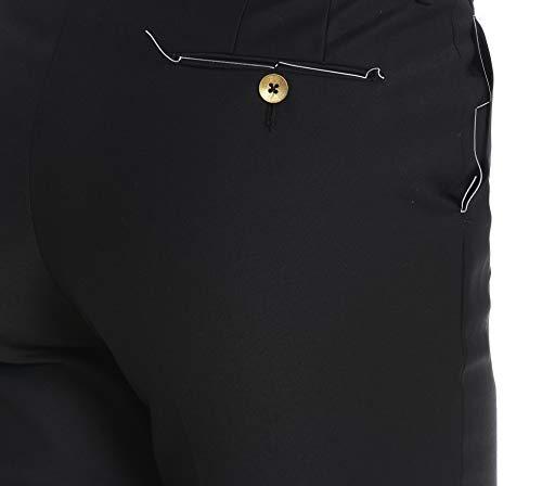 Algodon Vsnyz00amfld010990 Mujer Pt01 Pantalón Negro xaR8w8q