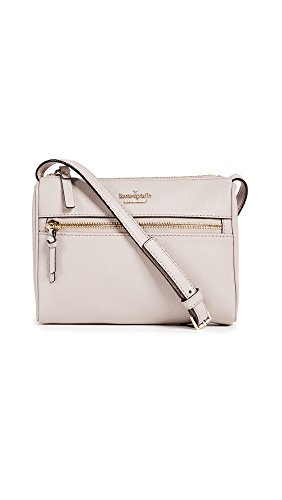 Kate Spade New York Women's Jackson Street Mini Cayli Cross Body Bag, Bone Grey, One Size by Kate Spade New York