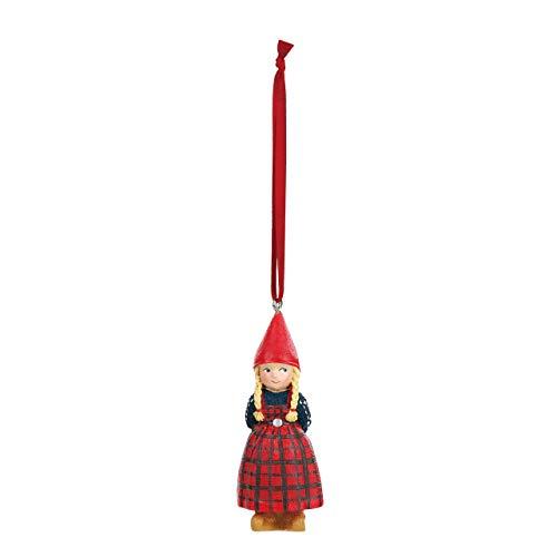 DEMDACO The Christmas Wish Anja Mini 3 Inch Resin Hanging Christmas Tree Ornament ()