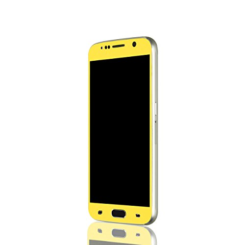 AppSkins Vorderseite Samsung Galaxy S6 Color Edition yellow