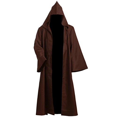 Men's Outwear Halloween Cosplay Samurai Robe Costumes Cloak Type