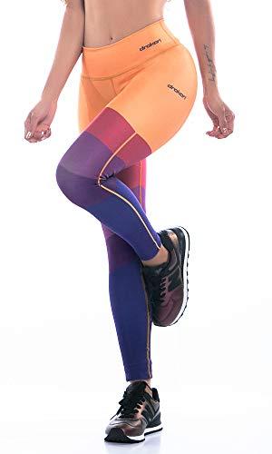 Drakon Colombian Leggings Activewear Solid Colors Women Compression Pants Yoga Tights Panto