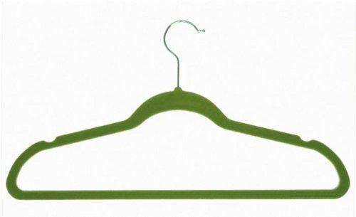 Achim Anti- Slip Velvet Hangers 10 Pack