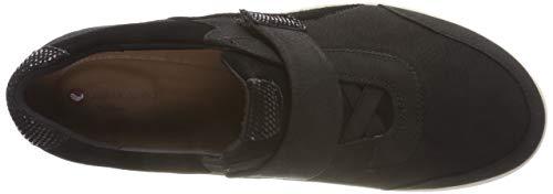 Clarks Adorn Low Top Black Combi Un Sneakers Lo Black Women's URrnRwx4