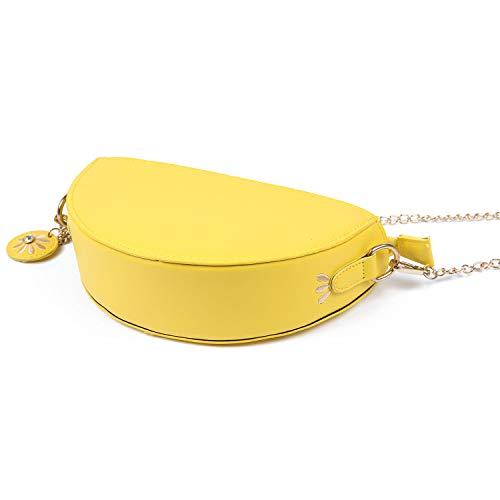 Per A Di Vacanze Forma Vogue Novità Borsa Carina Eveout Tracolla Ragazze Le Donna Limone Mini Da Frutta zwqFEF