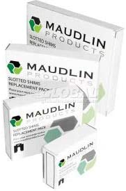 """.075/"""" Slotted Shim 10-pack A-2/"""" x 2/"""" x 5//8/"""""""