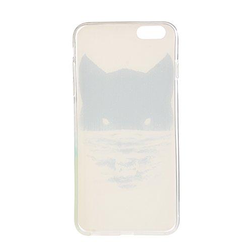 TPU para smartphone Apple iPhone 6(4.7pulgadas) Diseño Pattern Relief Carving Carcasa–Case de diseño exclusivo–De TPU suave ultrafina–Protege de la suciedad y arañazos + Polvo Conector rosa 13 11