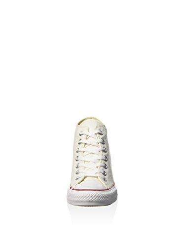 All Hi Lux Star Zapatillas de adulto Converse Unisex Blanco Mid cuña IqdnH