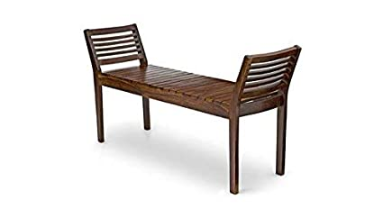 Remarkable Tg Furniture Sheesham Wood Bench Sheesham Wood Wooden Furniture Home And Living Room Natural Finish Brown Dimensions 50 15 27 Inches Ibusinesslaw Wood Chair Design Ideas Ibusinesslaworg
