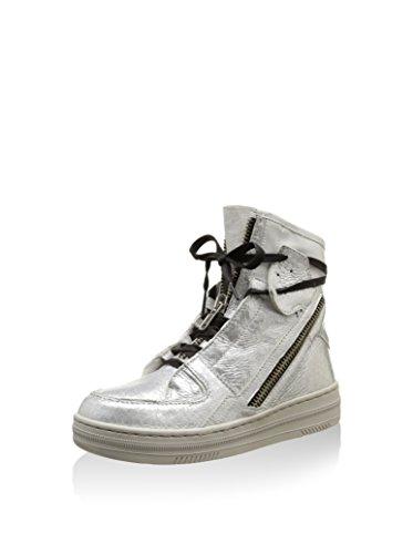 Crime London Zapatillas abotinadas 21603S15 Plata EU 39