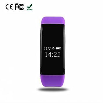 Pulsera Inteligente Bluetooth Digital pantalla táctil capacitiva,Dispositivos deportivos smartwatch,registro de calidad del sueño,Función Despertador,dos ...