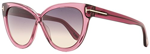 (Tom Ford Arabella FT 0511 Burgundy/Violet Smoke Shaded 59/11/140 Women Sunglasses)