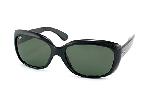 Ray Ban RB4101 601/58 58mm Black/Polarized Jackie Ohh Sunglasses Bundle-2 - Rb4101 Polarized