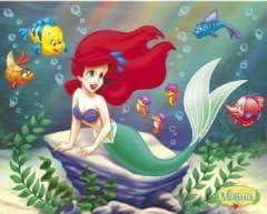 Elite*Posters Disney Ariel de la Sirenita Rock Regular ...