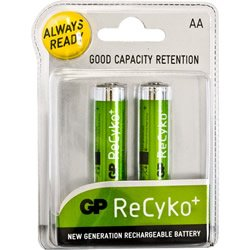Replacement For IN-1F688 GP RECYKO NIMH AA 2PK Battery Accessory 10 PACK by Technical Precision