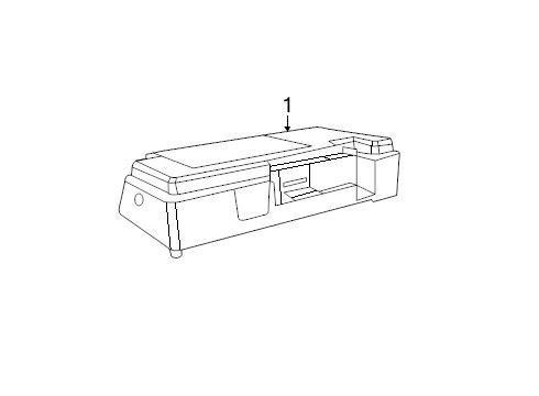 Genuine Mopar 68222278-AA - Module Telematics
