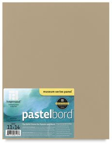 Ampersand Pastelbord 18 in. x 24 in. white each by Ampersand