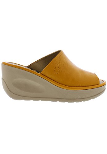 Fly London Women's Jamb865fly Mules Yellow xAC3vkW