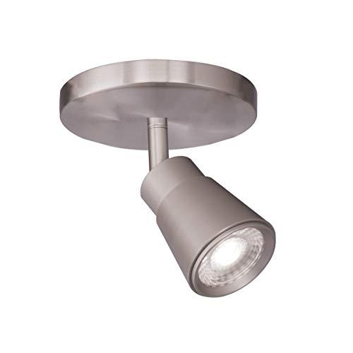 (WAC Lighting TK-180501-30-BN Solo Energy Star LED Monopoint, 1 Light,)