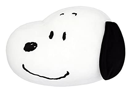Amazon.com: Cacahuetes mocchi-mocchi- face-type Cojín Snoopy ...