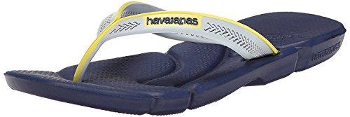 (Havaianas Men's Power Flip Flop, Navy Blue/Navy Blue, 45-46 BR /13 M US)