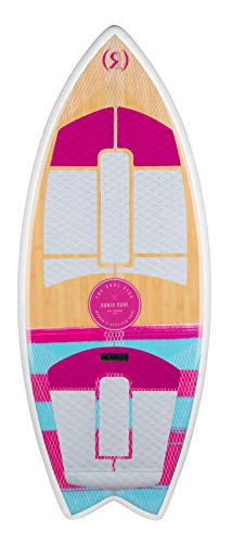 Ronix Women's Koal w/Technora - Fish - Bamboo/Pink/Mint - 4'5