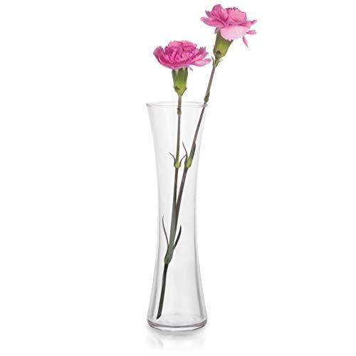 Libbey Sabrina Bud Vase, 8-inch, Set of 8
