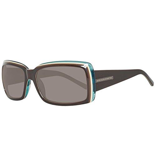 BE64303 para Mujer Gafas Sol BENETTON Azure 57 Black de BvCgqw7w