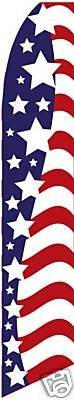 USA Stars Feather Banner Flag (Complete Kit) For Sale