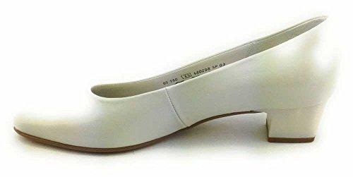 Gabor 65.160.80 - Zapatos de vestir para mujer 80off-white+Absatz