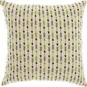 (Nourison Mina Victory RN787 Trendy, Hip, New Age Embroidered Throw Pillow 18