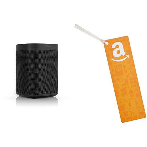 Sonos One (Gen 2) with Amazon Alexa (Black) w/$50 gift card